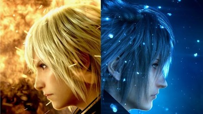 Final Fantasy Type-0 HD/Final Fantasy XV Promo Art