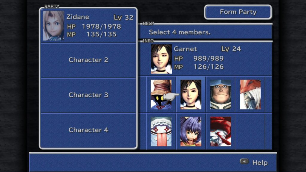 Final Fantasy IX Portraits