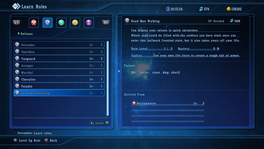 STAR OCEAN: Integrity and Faithlessness Roles